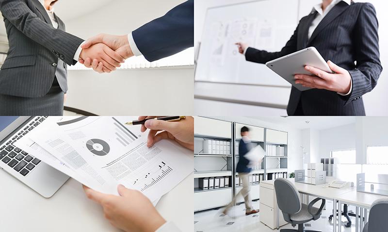 会社分割後の会社のイメージ